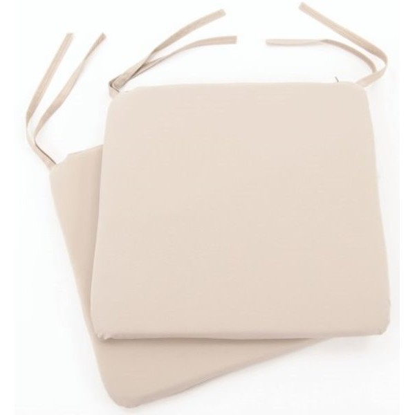 Weather Resistant Bistro Pad Cushions - Pack of 2