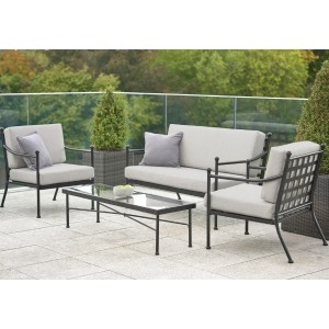Harvington Metal Sofa Set