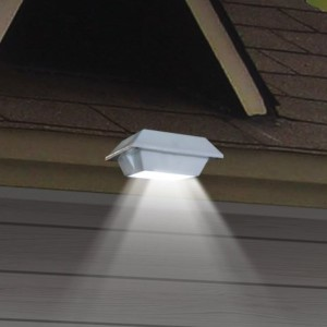LED Square Solar Gutter Lights (2)