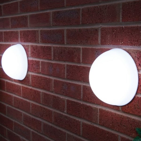 Dome Solar Lights - Pack of 2