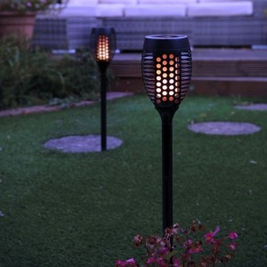 Flickering Flame Solar Lights (Pack of 2)