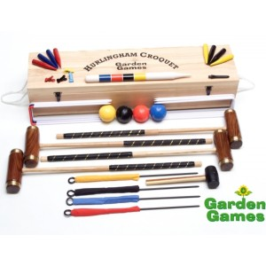 Hurlingham Boxed Croquet Set