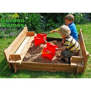 Seated Childrens Sandpit