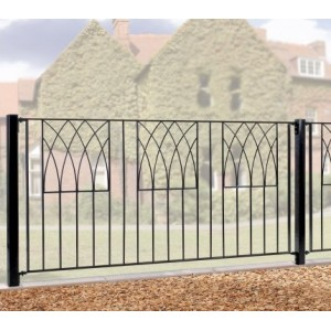 Made to Measure Abbey Fence