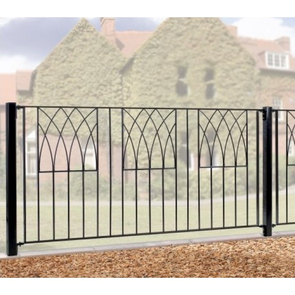 Abbey Fence Panel