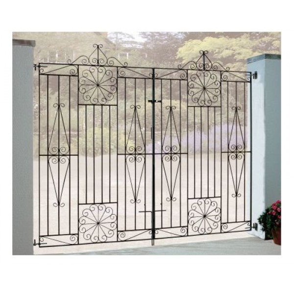 Made to Measure Edinburgh Tall Double Gates