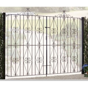 Made to Measure Stirling Tall Double Gates