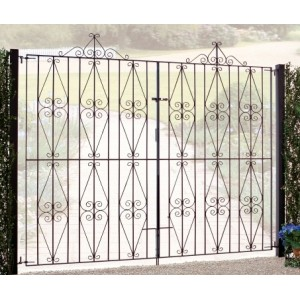 Stirling Tall Double Gates