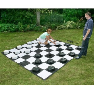 Giant Garden Draughts