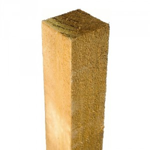 75mm Pressure Treated Fence Post (Pale Brown)