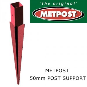 Metpost 50mm Post Anchor