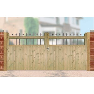 Made to Measure Hampton Double Gates