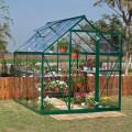 Palram 6 x 8 Green Harmony Greenhouse