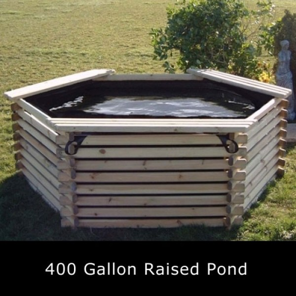400 gallon raised pond for Koi pond price