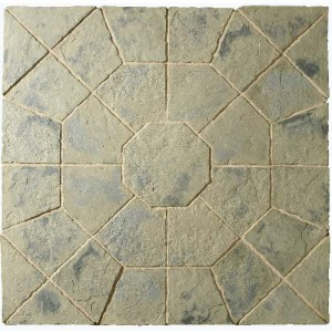 Minster Rustic Sage Octagon Patio Kit