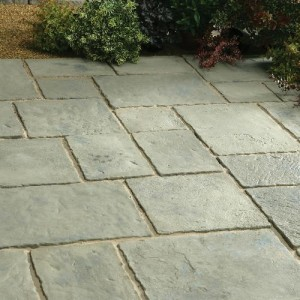 Minster Rustic Sage Patio Kit