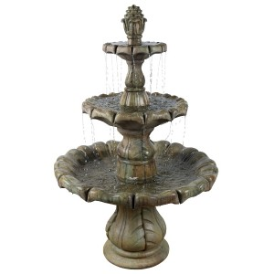 Classical Finial Water Feature