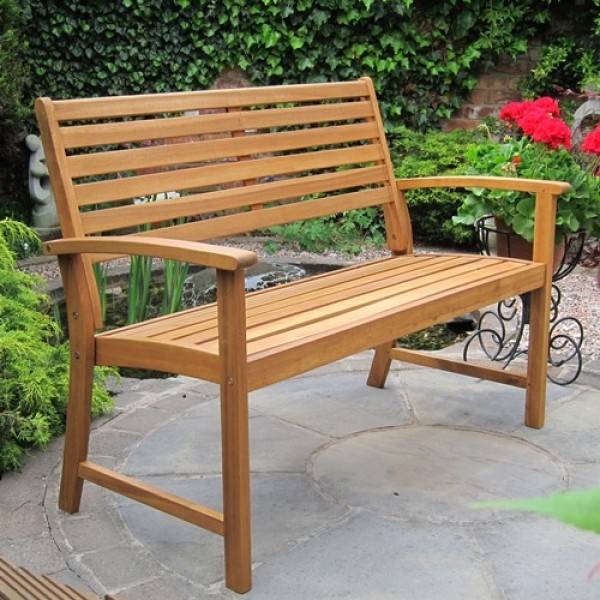 Kent Curved Back Garden Bench