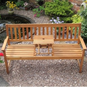 Kent Pop-Up Table Garden Bench