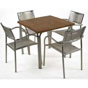 Leon Aluminium Patio Set
