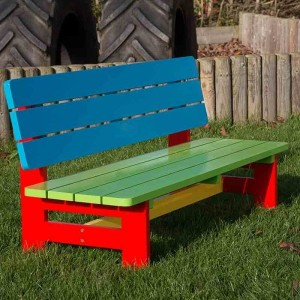 Children's Painted Bench 3-5 Years