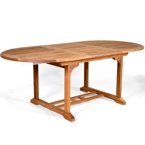 King John Extending Teak Table