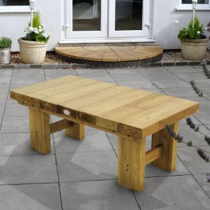Low Level Sleeper Table 120cm