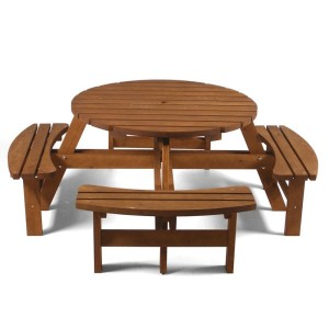Lancaster Round Picnic Bench