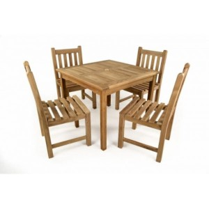 Little Warwick Teak Patio Set