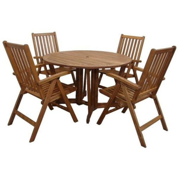 Henley 5pc Dining Set with Recliner Chairs