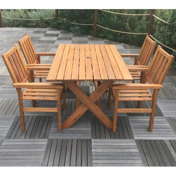 Homestead 4 Seater Patio Dining Furniture