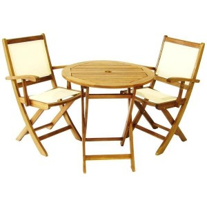 York Textilene Bistro Set