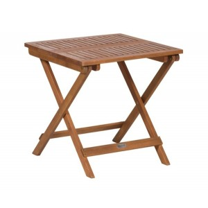 Acacia Mini Folding Side Table