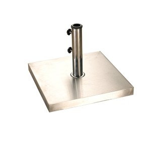 25kg Stainless Steel Square Parasol Base