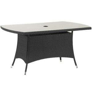 Cannes Rectangular Rattan Table