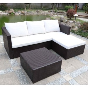 Cannes Rattan Corner Sofa Set