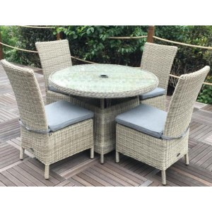 Wentworth Rattan Round Patio Set