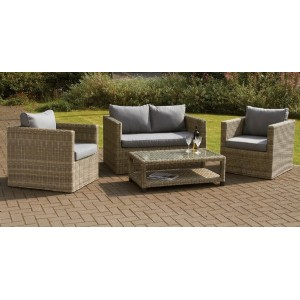 Wentworth 4 Piece Rattan Sofa Set