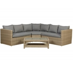 Wentworth 4 Piece Rattan Corner Sofa