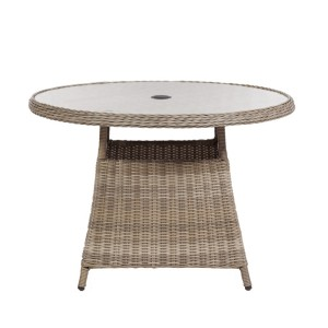 Wentworth Round Rattan Table
