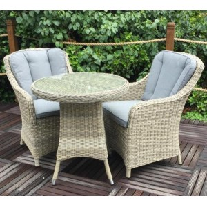 Wentworth Imperial Rattan Bistro Set