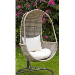 Wentworth Rattan Hanging Pod Chair