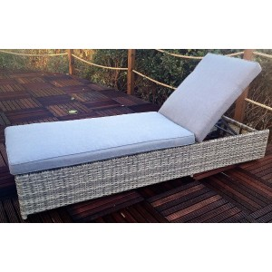 Windsor Rattan Sun Lounger