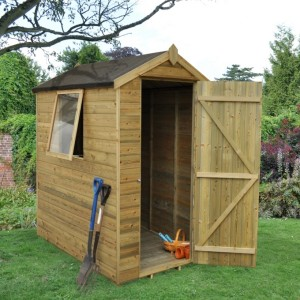 Forest 6 x 4 Tongue & Groove Apex Shed