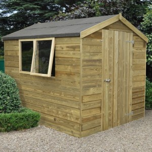 Forest 8ft x 6ft Tongue & Groove Apex Shed