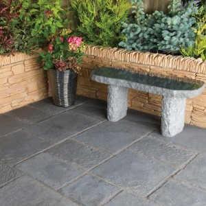 Minster Graphite Patio Kit