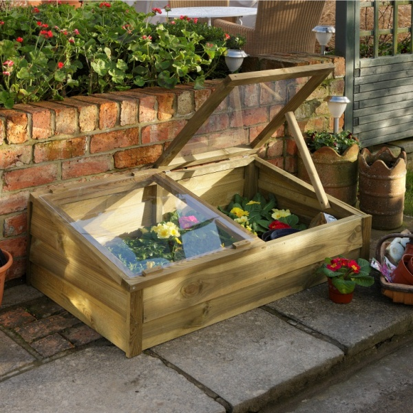 Large Rustic Cold Frame