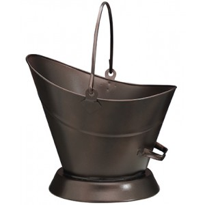 Oxy-Copper Waterloo Coal Bucket