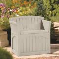 Plastic Garden Storage Chair