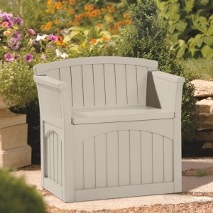 Plastic Garden Storage Chair